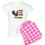 Stand Your Ground Rooster Women's Light Pajamas
