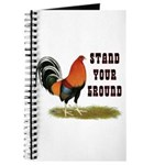 Stand Your Ground Rooster Journal