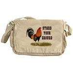 Stand Your Ground Rooster Messenger Bag