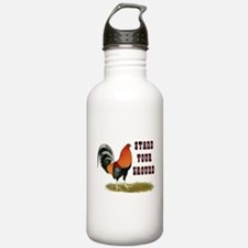 Stand Your Ground Rooster Water Bottle