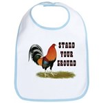 Stand Your Ground Rooster Bib
