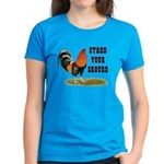Stand Your Ground Rooster Women's Dark T-Shirt
