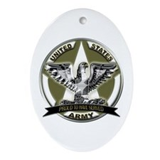 US Army Eagle Proud to Have Served Ornament (Oval)