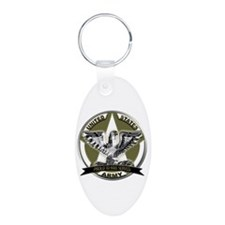 US Army Eagle Proud to Have Served Keychains
