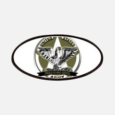 US Army Eagle Proud to Have Served Patches