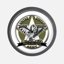 US Army Eagle Proud to Have Served Wall Clock