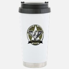 US Army Eagle Proud to Have Served Travel Mug