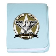 US Army Eagle Proud to Have Served baby blanket