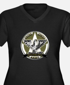US Army Eagle Proud to Have Served Women's Plus Si