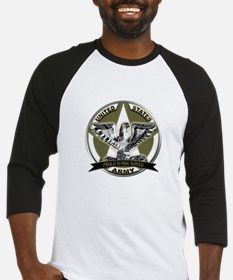 US Army Eagle Proud to Have Served Baseball Jersey