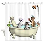 Rub a Dub Tub Shower Curtain