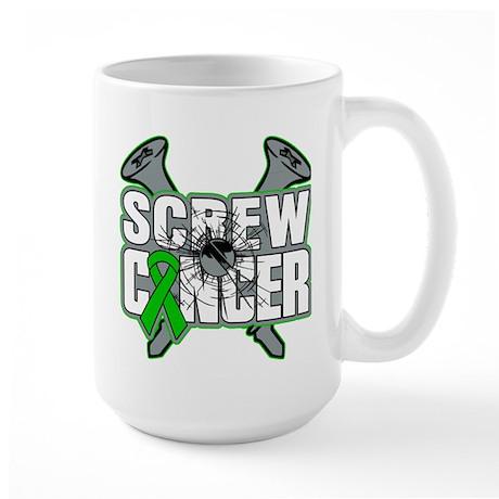 Screw Bile Duct Cancer Large Mug