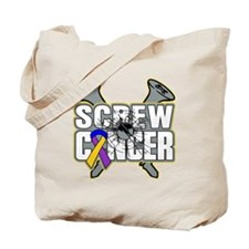 Screw Bladder Cancer Tote Bag