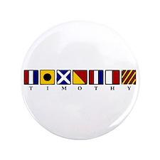 "Nautical Timothy 3.5"" Button"