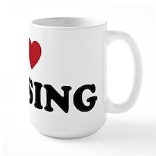 I Love Lansing Michigan Mug