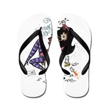 The serious party-goer Flip Flops