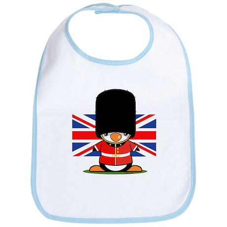 British Soldier Penguin Bib