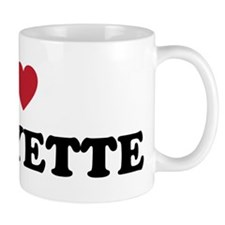 I Love Lafayette Louisiana Mug