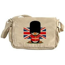 British Soldier Penguin Messenger Bag