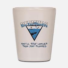Bermuda Triangle Shot Glass