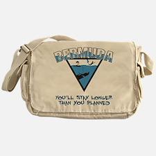 Bermuda Triangle Messenger Bag