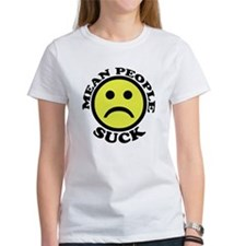 Mean People Suck Smiley Tee