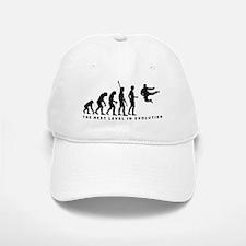 evolution karate Baseball Baseball Cap