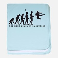 evolution karate baby blanket