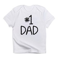 Number 1 dad Infant T-Shirt