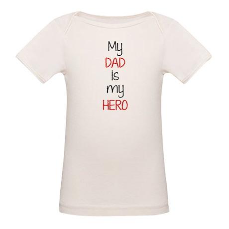 Hero dad Organic Baby T-Shirt