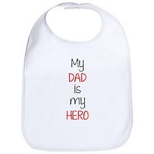 Hero dad Bib