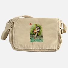 Lucky Cat and Lucky Fish.jpg Messenger Bag
