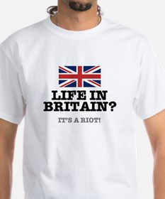 LIFE IN BRITAIN - ITS A RIOT