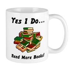 More Books! Small Mug