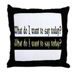 Your own custom Image! Throw Pillow