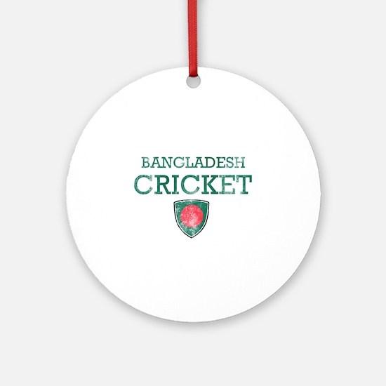 Bangladesh Cricket designs Ornament (Round)