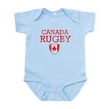 Canada Rugby designs Infant Bodysuit