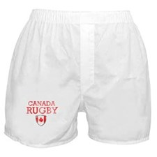 Canada Rugby designs Boxer Shorts
