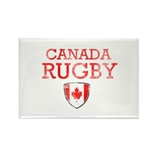 Canada Rugby designs Rectangle Magnet