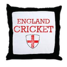 England Cricket designs Throw Pillow