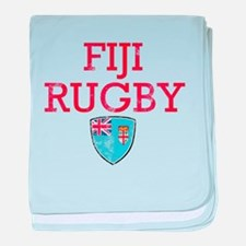 Fiji Rugby designs baby blanket