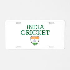 India Cricket designs Aluminum License Plate