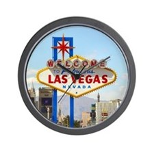 Las Vegas Sign Wall Clock