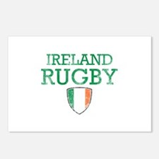 Ireland Rugby designs Postcards (Package of 8)