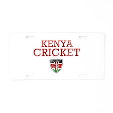 Kenya Cricket designs Aluminum License Plate