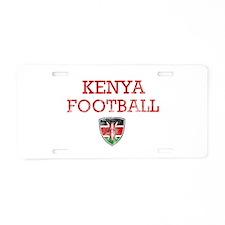 Kenya Football designs Aluminum License Plate