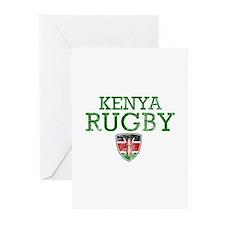 Kenya Rugby designs Greeting Cards (Pk of 10)