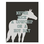 Cowchip Quote Small Poster
