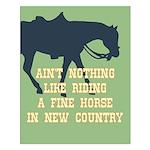 Fine Horse Quote Small Poster