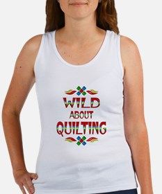 Wild About Quilting Women's Tank Top